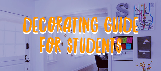 decorating for students