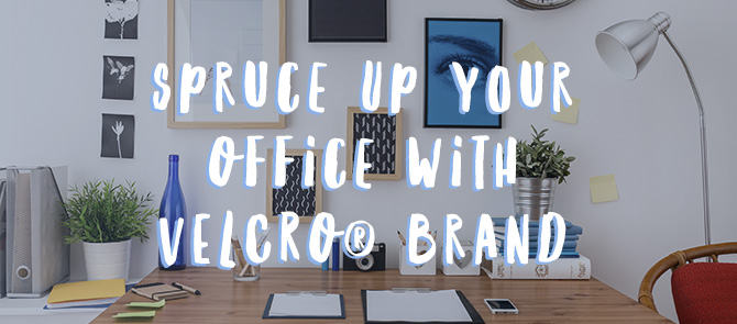 Office organisation with VELCRO® Brand
